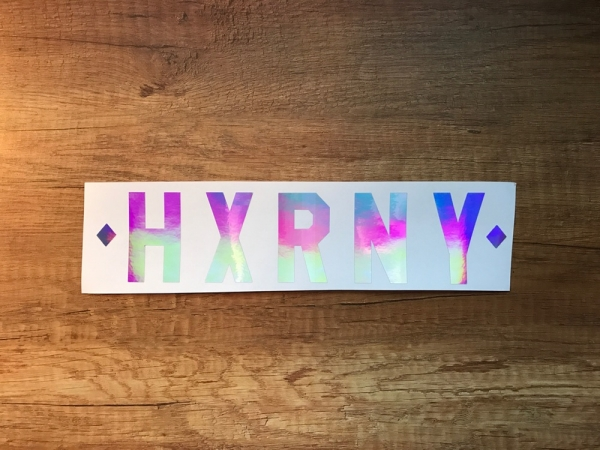 HXRNY X WINDOW STICKER